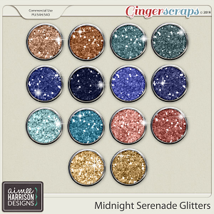 Midnight Serenade Glitters by Aimee Harrison