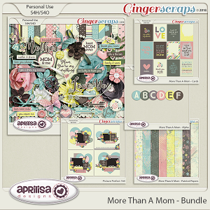 More Than A Mom - Bundle by Aprilisa Designs