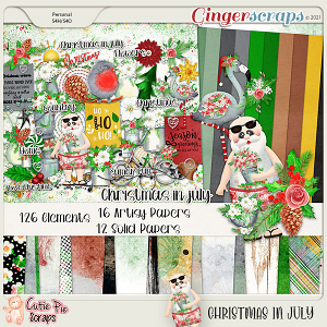 Christmas In July Page Kit