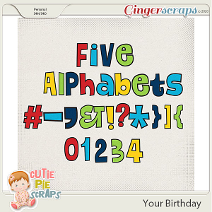 Your Birthday Alphabets