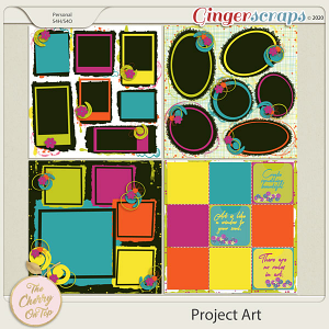 The Cherry On Top: Project Art Templates