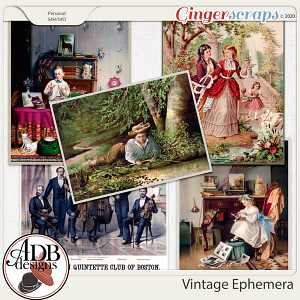 Heritage Resource - Vintage Ephemera by ADB Designs