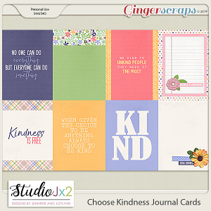 Choose Kindness Journal Card Pack