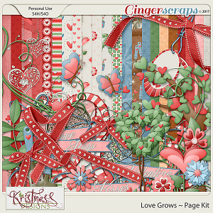 Love Grows Page Kit