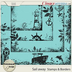 Sail away Stamps & Borders