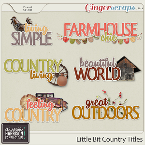 Little Bit Country Titles by Aimee Harrison