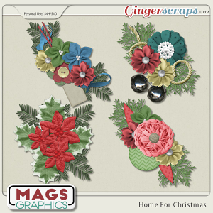 Home For Christmas CLUSTERS from MagsGraphics