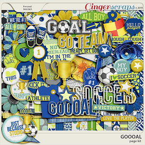 Goooal! Page Kit by JB Studio