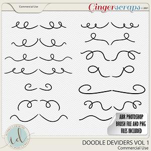 CU Doodle Deviders Vol 1 by Ilonka's Designs