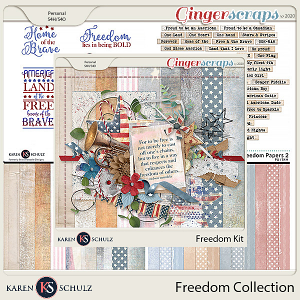 Freedom Collection by Karen Schulz