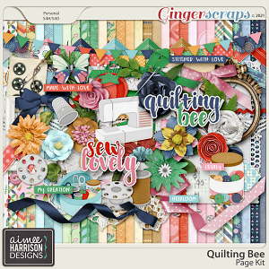 Quilting Bee Page Kit by Aimee Harrison