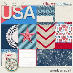 American Spirit Cards by Chere Kaye Designs