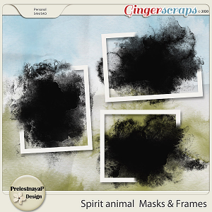 Spirit animal Masks & Frames