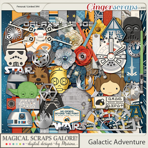 Galactic Adventure (page kit)