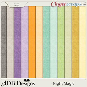 Night Magic Cardstock Solids by ADB Designs