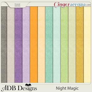 Night Magic Cardstock Solids by ADB Designs