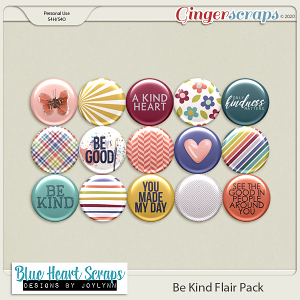 Be Kind Flair Pack