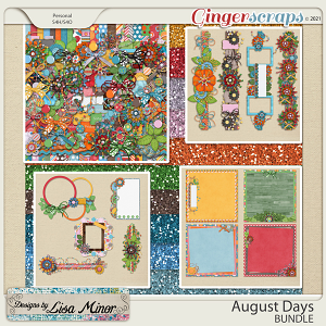 August Days BUNDLE from Designs by Lisa Minor