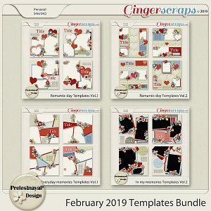 February 2019 Templates Bundle