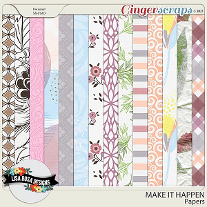 Make it Happen - Papers by Lisa Rosa Designs