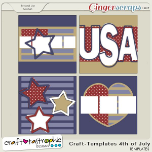 Craft-templates 4th of July