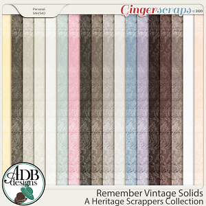 Remember Vintage Solids by ADB Designs