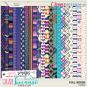 Full Moon Papers by JB Studio and Neia Scraps
