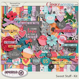 Sweet Stuff - Kit by Aprilisa Designs