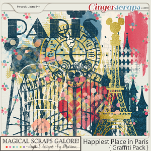Happiest Place in Paris (graffiti pack)