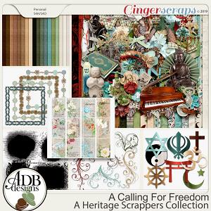 A Calling For Freedom Bundle by ADB Designs