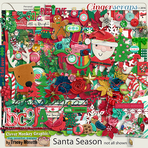 Santa Season by Clever Monkey Graphics