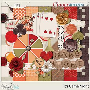 It's Game Night by Dandelion Dust Designs