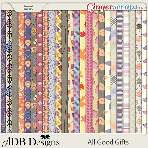 All Good Gifts Forest Patterned Paper