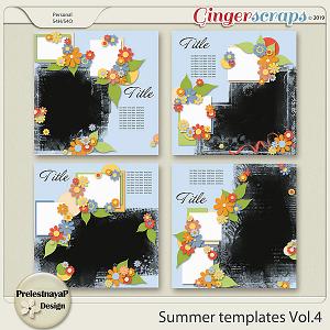 Summer Templates Vol.4