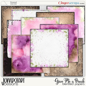 Give Me a Break {Blended Papers}