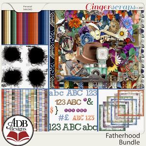 Fatherhood Bundle by ADB Designs