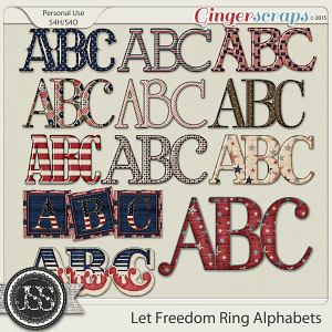 Let Freedom Ring Alphabets