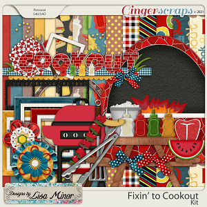Fixin' to Cookout from Designs by Lisa Minor