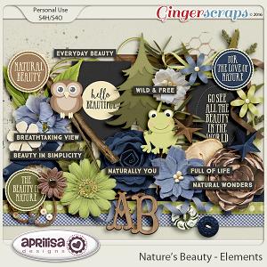 Nature's Beauty - Elements by Aprilisa Designs