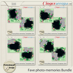 Fave photo-memories Templates Bundle