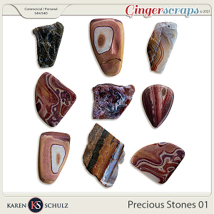 Precious Stones 01 by Karen Schulz