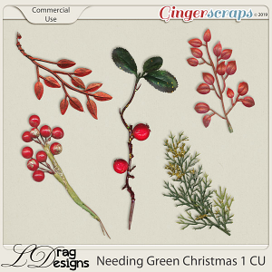 Needing Green Christmas 1 CU by LDragDesigns