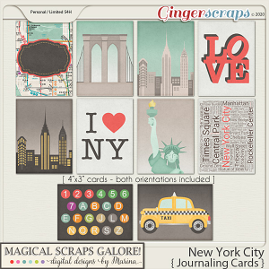 New York City (journaling cards)