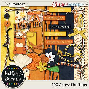 100 Acres THE TIGER MINI KIT by Heather Z Scraps
