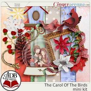 The Carol of the Birds Mini Kit by ADB Designs