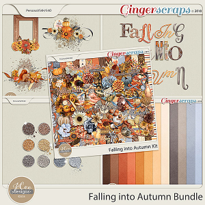 Falling into Autumn Bundle by JoCee Designs