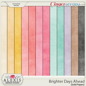 Brighter Days Ahead - Solid Papers