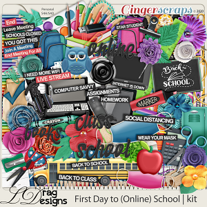 First Day To (Online) School by LDragDesigns