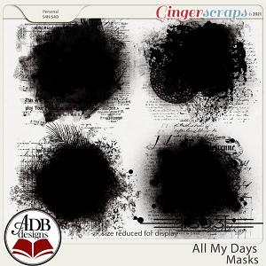 All My Days Masks by ADB Designs