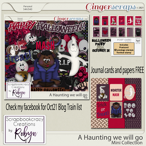 A Haunting we will go Collection by Scrapbookcrazy Creations